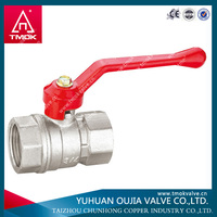 pfa/fep lined ball valve of YUHUAN OUJIA