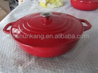 enamel Cast Iron Casserole factory