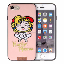 Puzoo Starshow Knitting Cartoon Lovely Pattern TPU Phone Case For IPHONE 6S/7/8