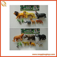 hot sale plastic modern wild animal toy wild animal toy factory AN1028666C-26