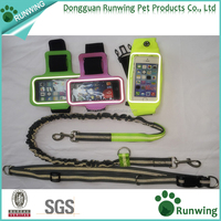 2016 HOT Selling Hands Free Dog Leash Reflective With Small Pocket