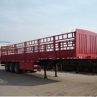Heavy Load Animal Transporting 3 Axle