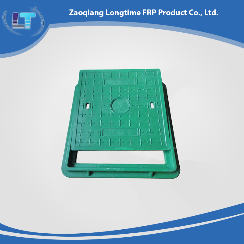 Quality Products plastic composite manhole cover, fiberglass canal cover