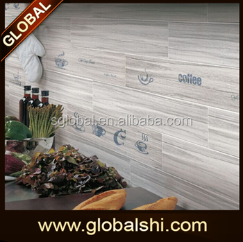 non slip wood grain look ceramic floor tile 600x150