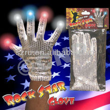 Party Supplies Glitter Led Gloves