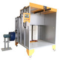 Electrostatic Automatic industrial spray booths/powder coating production line