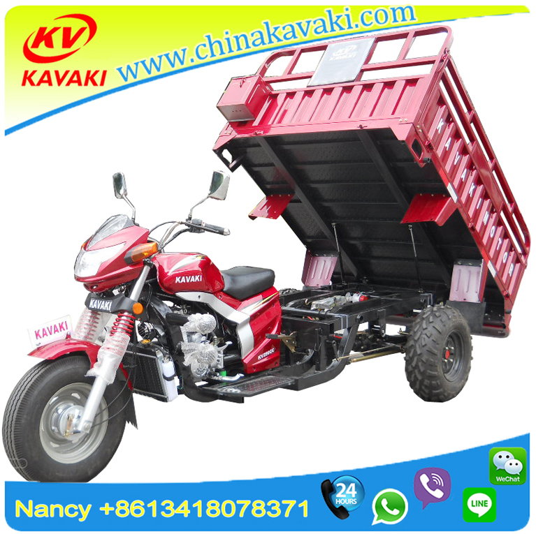 Loncin OEM 250cc adult heavy load petrol cargo tricycle Three wheel Atv