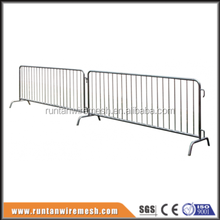High quality temporary traffic fence barrier( factory ISO 9001 certificate )