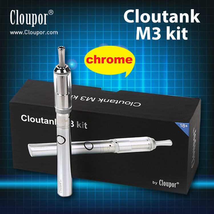 Newest hot selling cloutank M3 kit alter ego e cigarette made by cloupor