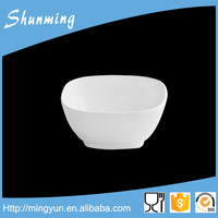Non-toxic colorful square plastic bowl