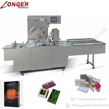 Excellent Performance Bopp Film Facial Mask Gift Playing Card Box Cellophane Packing Machine Wafer Biscuit Wrapping Machine