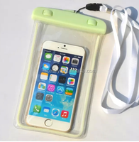 Waterproof Pouch Mobile Phone Bags with Strap Dry Pouch Cases Cover for Samsung for iPhone 6 5S SE 6S Plus Swimming Case
