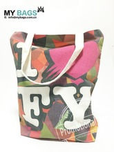 Maimeng personalized Peace tote bag Cotton Designer Canvas bag