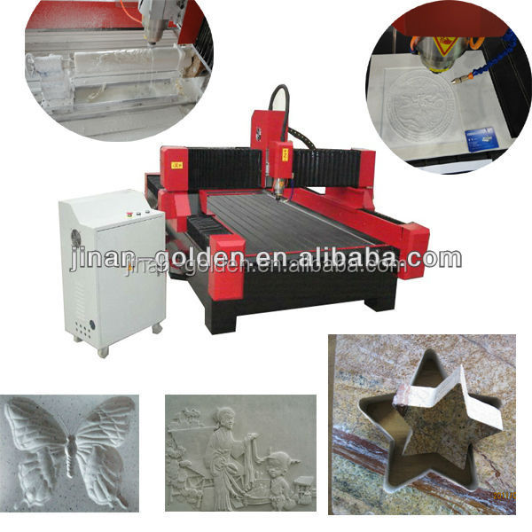 Hot sale double spindle stone engraving machine to the world
