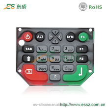 Customized Silicone Rubber Keypad POS Machine Silicone Numeric Keypad