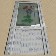 PVC decoration door art glass