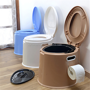 Widely Used Plastic Mobile Camping Toilet