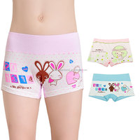 carton girl panty briefs seamless lingerie kids underwear for girls