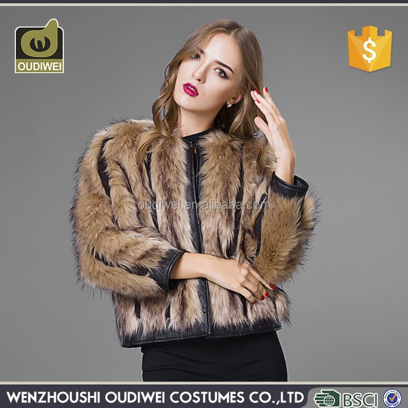 Latest Arrival special design custom parka fur coat with good prices