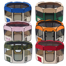 Folding waterproof pet playpen dog enclosure pet exercise pen