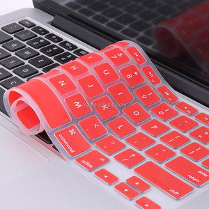 Custom silicone keyboard cover for Macbook Air 13 with US version