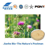Large-scale plant base High Active ingredients milk thistle seed extract 80% silymarin 50% Silybin