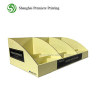 notebook corrugated counter display stand