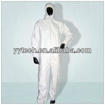 Waterproof disposable Anti-static chemical protective Coverall suits