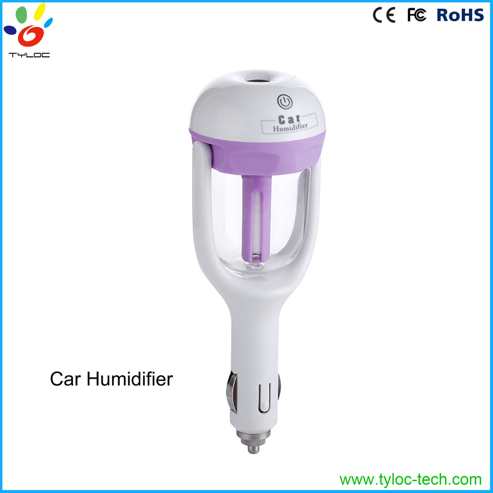 Safety auto-off ultrasonic humidifier cool mist car humidifier for sale