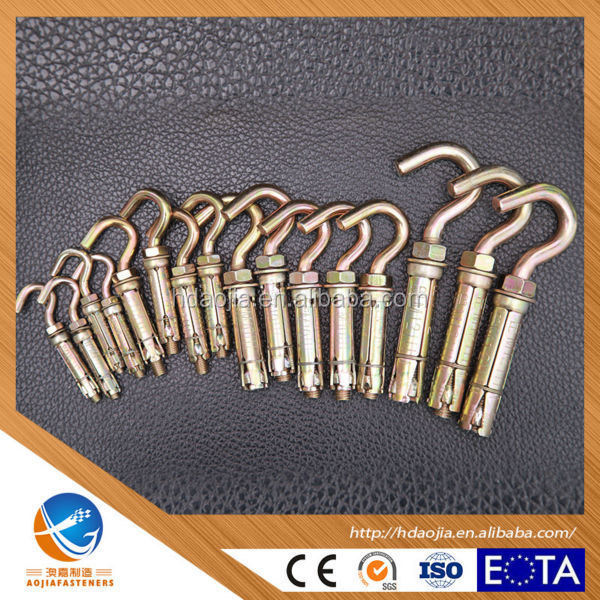 Factory Price YZP 4 pcs Fix Bolt With Hook Bolt <strong>M10</strong>*70
