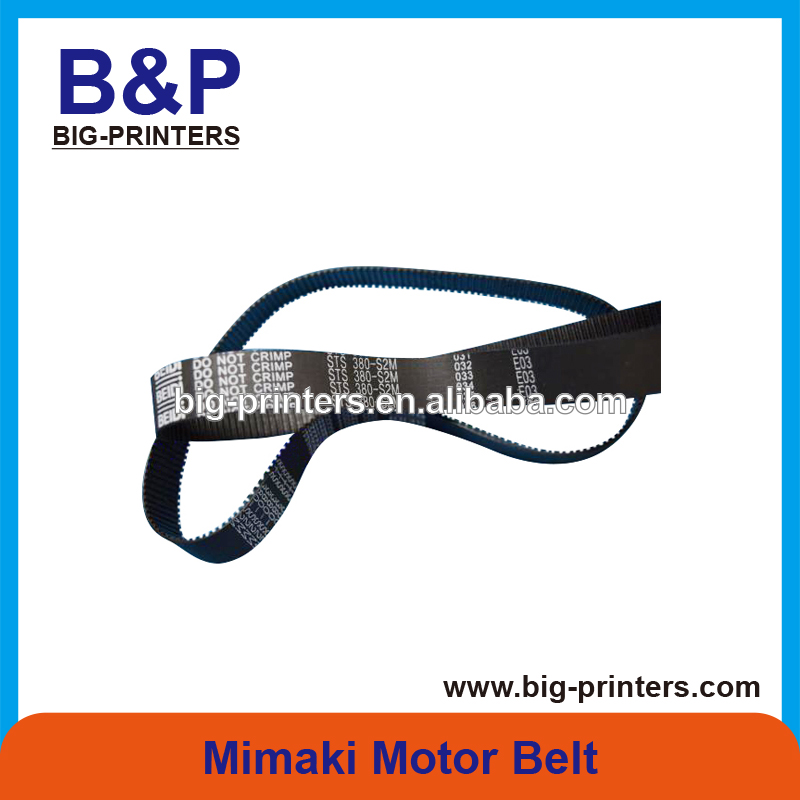 Durable !!!!Inkjet Printer Spare Parts Mimaki Motor Belt JV4 JV22 JV3 JV33 TS3 JV5 Y Timing Belt -( 15 S2M 380G) belt