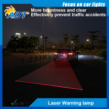2017 Hot-Selling Rushed Led Fog Lights Anti Collision Rear-end Car Laser Tail Auto Brake Parking Lamps Warning DD