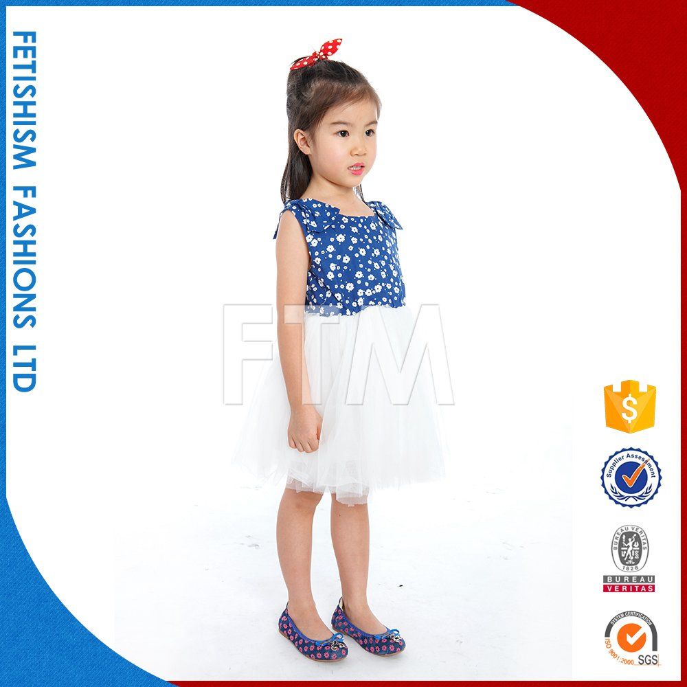 Hot Sale children beautiful fashion birthday girl dress for baby girl 2-5 year old
