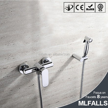 High quality hot sale chrome bathroom handheld water bidet sprayer