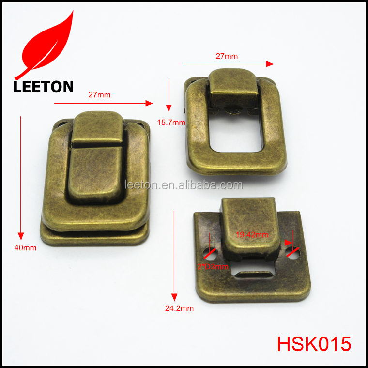 Factory supply antique metal box latch for wooden box