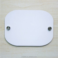 Blank Sublimation MDF door plate L337 sublimation door number plates