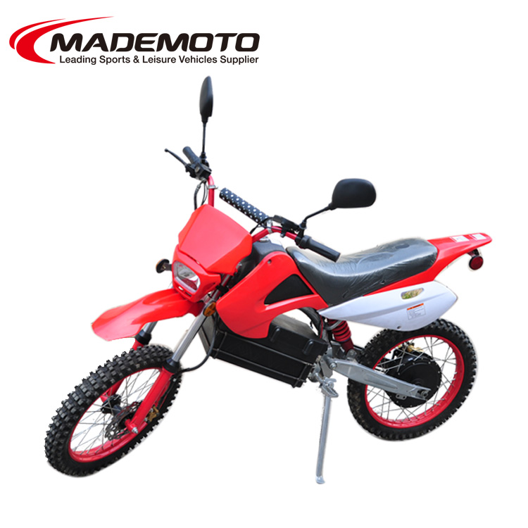 New Arrival 2 Wheel Electric ATV Motorcycle 60V 1200W Cool Electric Dirt Bike