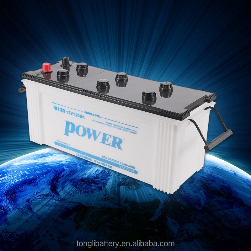 wholesale best price dry charged auto/car battery 12V N210 DIN&JIS car battery from china