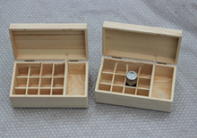 Solid wood, oil wooden box cosmetics packaging exquisite oil box