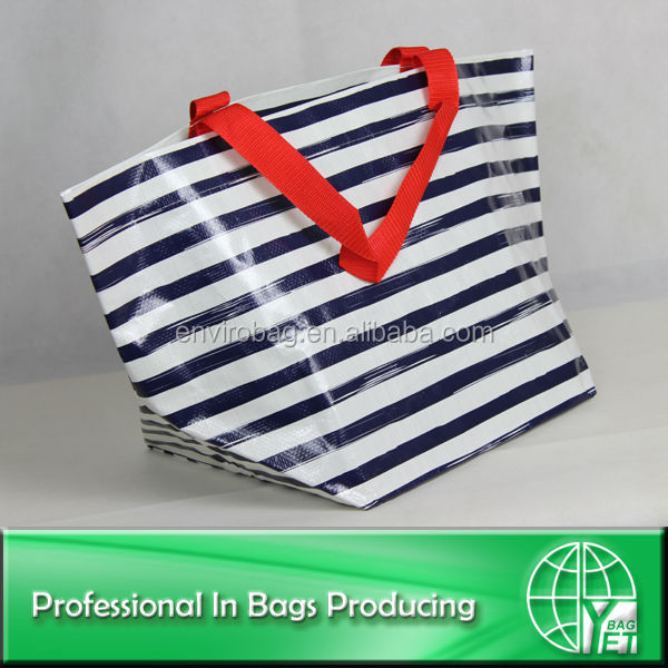 Wipe-clean PP woven advertise handbag