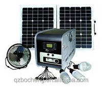 full power solar panel /inverter/battery/controller complete off-grid home 300w 600wsolar system