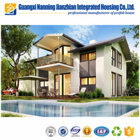 Durable Prefabricated Light Gauge Steel Prefab Villa Residential House