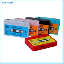 High Quality Mini Tape Shaped Card Reader MP3 Music Player LOGO gift MP3