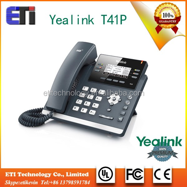 HD voice IP phone Yealink T41P usb phones