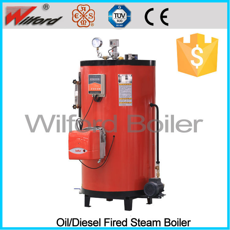 Natural Circulation Steam Generator For Oil Fired/Gas Fired