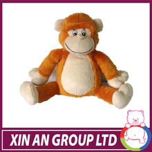 personalized plush fabric anmial toys with exquisite embroidery