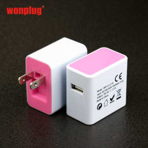 Universal Folding USB AC Adapter US Plug Wall Charger