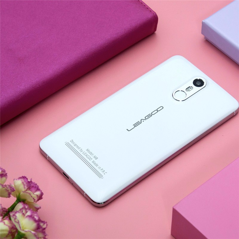 "original Leagoo M8 mobile phone 5.7""HD Android 6.0 Quad Core 2GB RAM 16GB ROM 3500mAh Battery 13.0 MP Fingerprint ID cheap phone"