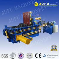 Y81-125A lower price hot sale horizontal hydraulic scrap iron shavings compactor press machinery