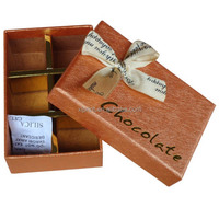 Luxury food grade paper candy box packaging box for chocolate